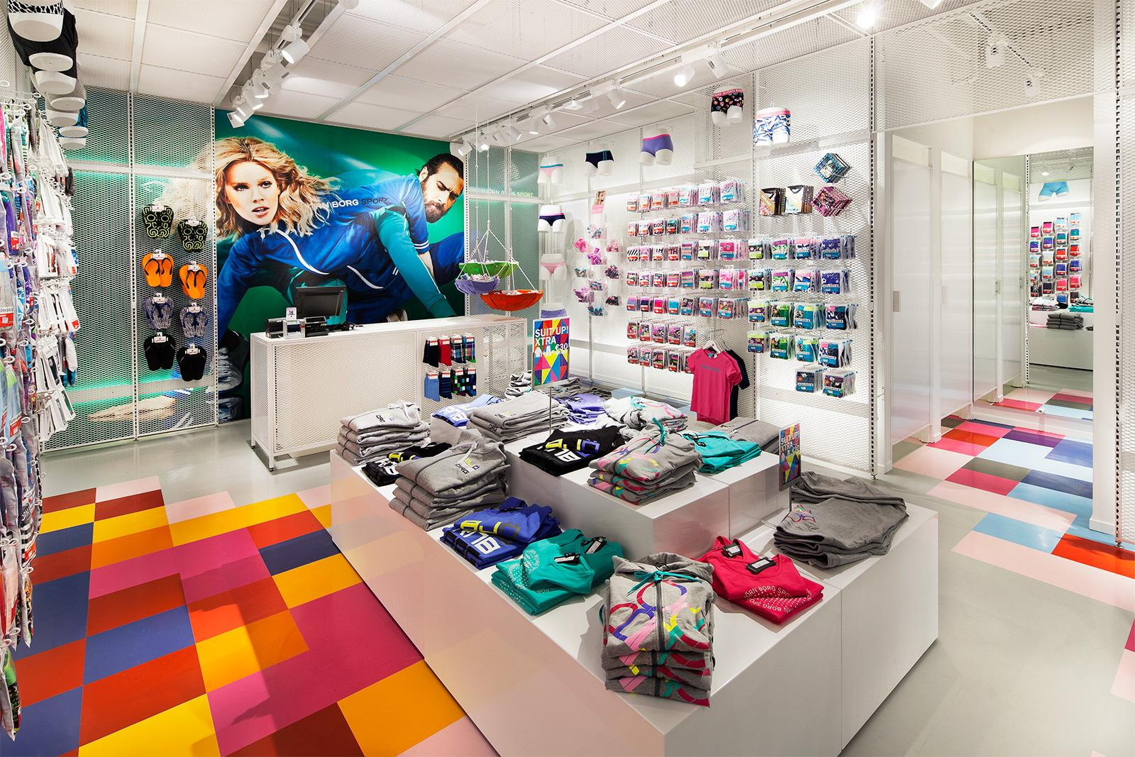 Scent marketing in Björn Borg fashion stores